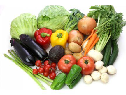 さまざまな種類の野菜の写真