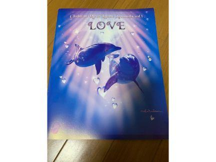 ラッセン画集「LOVE」の写真