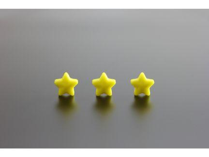 ★が3つ並ぶ評価を表す写真
