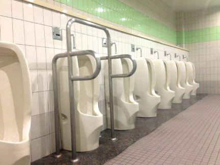 男子トイレの写真
