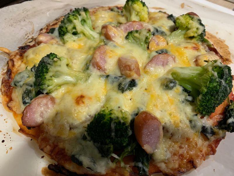 米粉ピザの写真