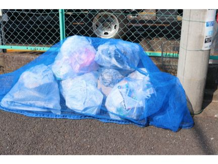 ゴミ収集場の写真