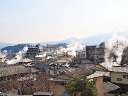 別府の町並みの写真