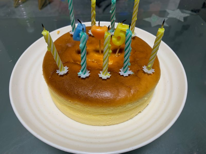 バースティケーキの写真